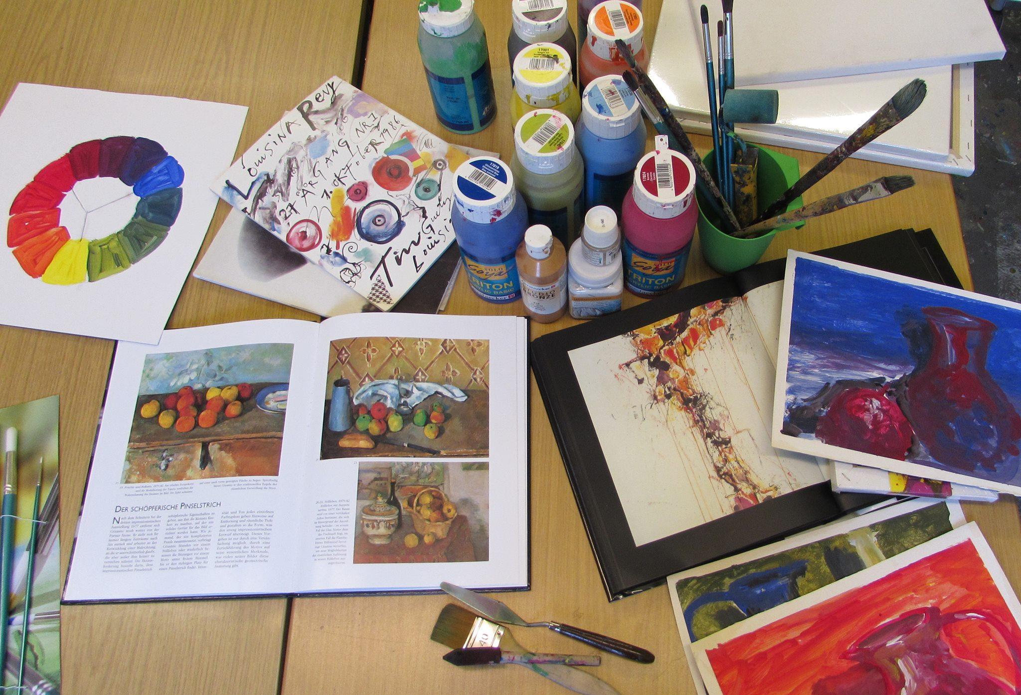 kunstatelier fliege | kindermalkurse, kassel, kindermalschule